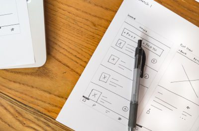 User experience research for web design
