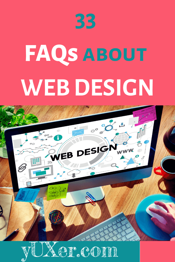 FAQs about web design